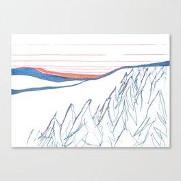 Alaska Winter Solstice Canvas Print