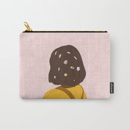The Flower lady Carry-All Pouch