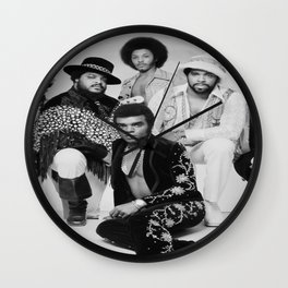 The Isley brothers Wall Clock