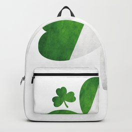Shamrock Clover Irish Flag St. Patrick's Day Backpack