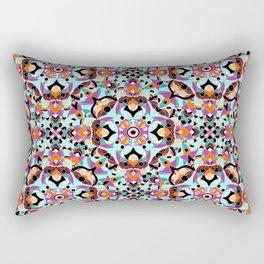 Flower mosaic Rectangular Pillow
