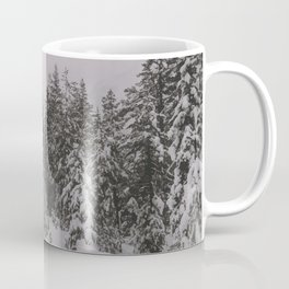 Trees covered by snow Coffee Mug