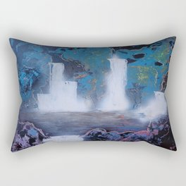 Magic Waterfalls Rectangular Pillow