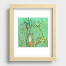 LuLu and the Turtles by Sarah Kiser Recessed Framed Print