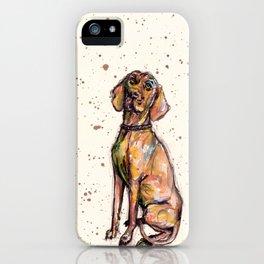 Hungarian Vizsla Dog iPhone Case