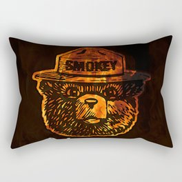 Smokey the Bear Rectangular Pillow
