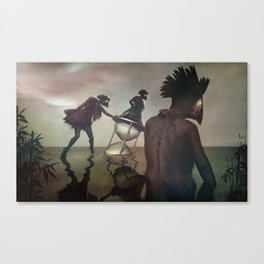 passed tense Canvas Print