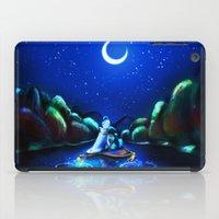 aladdin iPad Cases featuring Starry Night Aladdin by ThreeBoys
