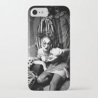 nurse iPhone & iPod Cases featuring Nurse & Clowns by Flashbax Twenty Three