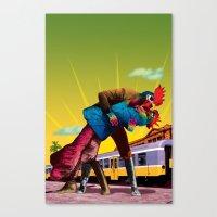 passion Canvas Prints featuring Passion by Pierre-Paul Pariseau