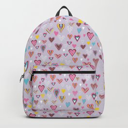 Doodle Love Hearts Backpack
