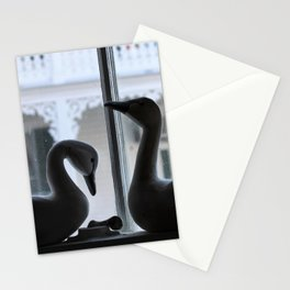 Swans at the Southern Quarters Stationery Cards