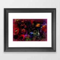 Collage Art Artsy Art by Sherri Of Palm Springs Framed Art Print