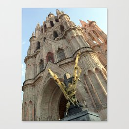 Church of San MIguel de allende II Canvas Print