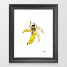 Fruit Phobia Framed Art Print