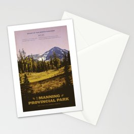 E. C. Manning Provincial Park Stationery Cards