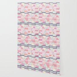 Sorbet Pinks Wallpaper