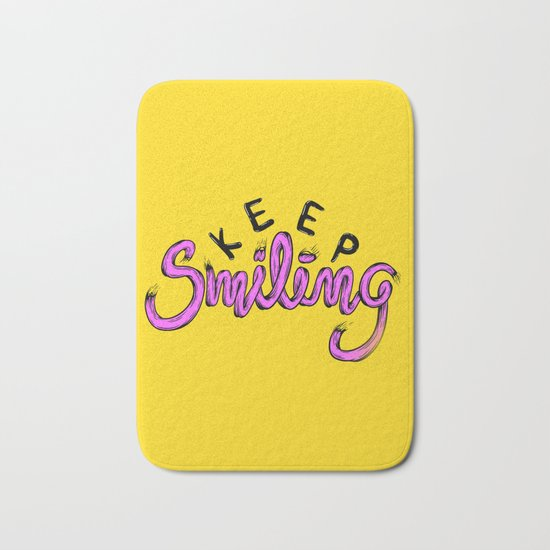 Keep Smilng Bath Mat