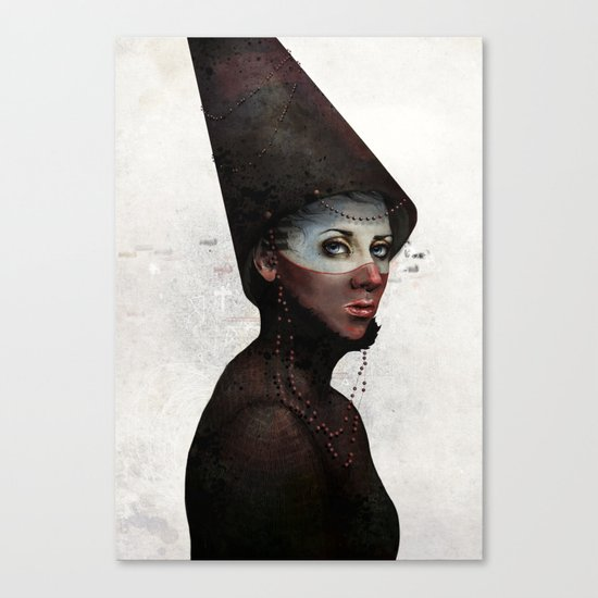 Priest Canvas Print