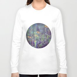 All Good Things (Daisy) Long Sleeve T-shirt