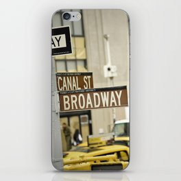 Standing at the Crossroads iPhone Skin