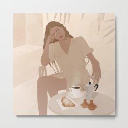 Coffe time  Metal Print