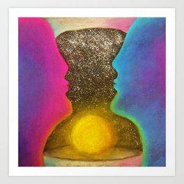 Hour Glass Art Print
