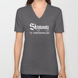 Skyway To Tomorrowland Unisex V-Neck