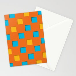 checkered pattern #25 Stationery Cards