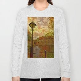 Old fort in the city of Kaliningrad Long Sleeve T-shirt