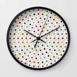 167 Toilet Rolls 01 Wall Clock