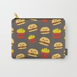 Fastfood pattern Carry-All Pouch