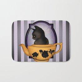 Teapot Cat Bath Mat