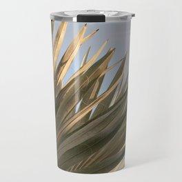 Bismarck Palm Leaf #1 #tropical #wall #decor #art #society6 Travel Mug