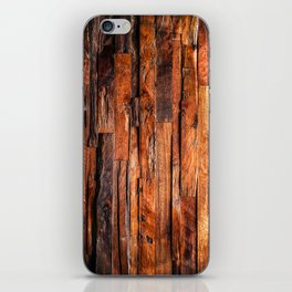 Beautifully Aged Wood Texture iPhone Skin