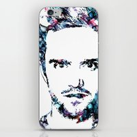 jesse pinkman iPhone & iPod Skins featuring Jesse Pinkman by NKlein Design