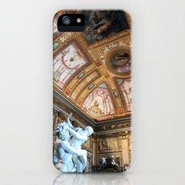 Il ratto di proserpina galleria borghese iPhone Case