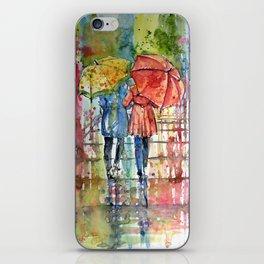 Raining iPhone Skin