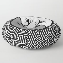 Way of the Fist Floor Pillow