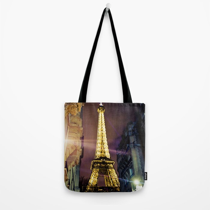 Paris La Nuit Tote Bag