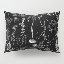 Nature Botanical Drawings by young kid artists, profits are donated to The Ivy Montessori School Pillow Sham