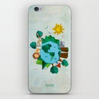 planet iPhone & iPod Skins featuring Planet by Design SNS - Sinais Velasco