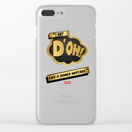 I get d'oh! Clear iPhone Case
