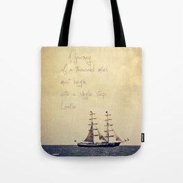 Sailing II Tote Bag