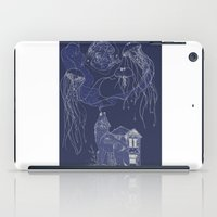 jelly fish iPad Cases featuring Jelly Fish by Jessica Bowman Illustrates