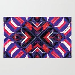 Curitiba (Garnet Stripes) Rug