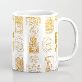 Beautiful Golden Tarot Card Print Coffee Mug