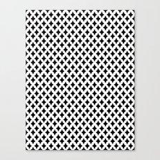 Bazaar 1 Black Canvas Print