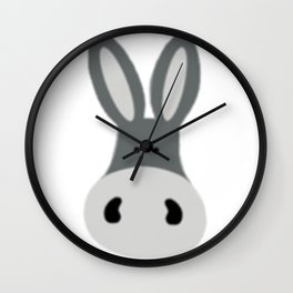 Charlie the Donkey Wall Clock