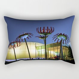 Seattle Glass Flowers - Chihuly Garden Rectangular Pillow